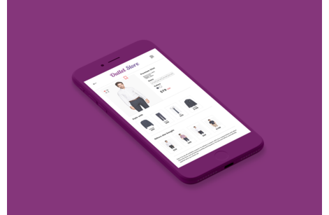 Mobile applications for online stores